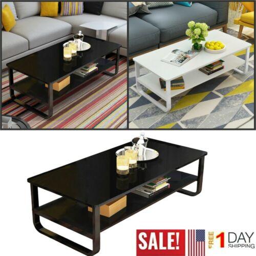 Buy 2 Tier Modern Rectangle Coffee Table Slide Top Storage Furniture Home Office Online In Kenya 264415014098