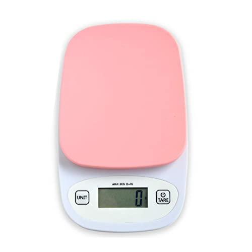 Buy Gemred Small Mini Digital Kitchen Scale Small Food Weight For Cooking Baking Kg G Oz Lb Max 11lb 5kg Pink Online In Kenya B088tbfcjt