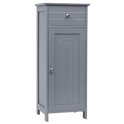 Tangkula Bathroom Floor Cabinet, Bathroom Floor Storage Cabinets