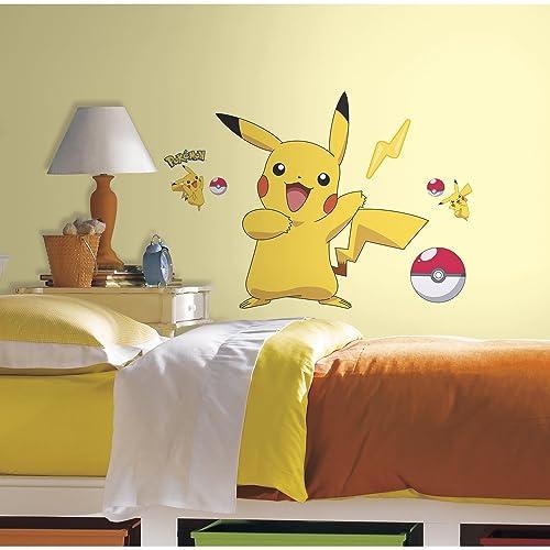Buy Roommates Pokemon Pikachu Peel And Stick Wall Decals Online In Kenya B00k1fw4gc