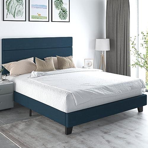 Allewie Queen Size Fabric, Allewie Queen Platform Bed Frame With 4 Drawers Storage