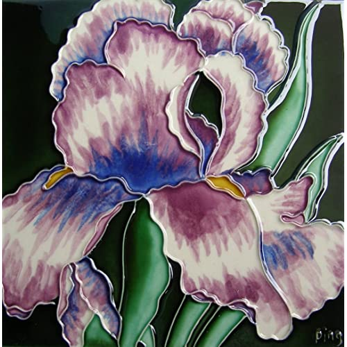 Continental Art Center Bd 0283 8 By 8 Inch Single Light Purple Iris Ceramic Art Tile Buy Products Online With Ubuy Kenya In Affordable Prices B009jcnkmk