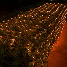 Gate Yard Halloween Christmas Decoration Qunlight Solar String Lights Halloween Decoration Lights,8 Modes 2PACK 20ft 30 LED Waterproof Outdoor Decorative Ghost Fairy Lights for Patio Garden